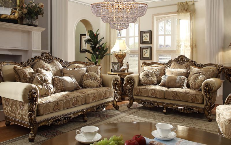 Dallas Designer Furniture El Dorado Formal Living Room Set
