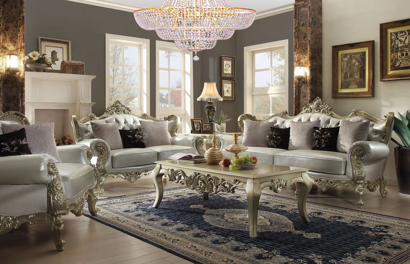Huber Formal Living Room Set