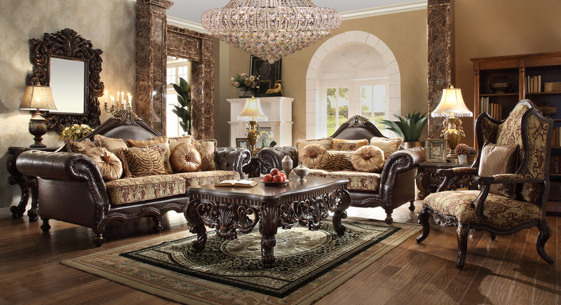 dallas designer furniture samuel living room set in black