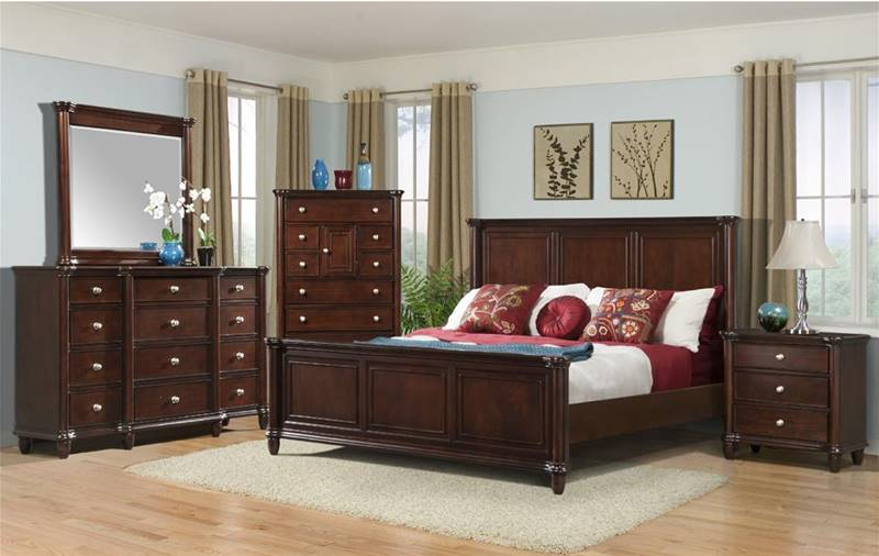 Dallas Designer Furniture Hamilton Bedroom Set