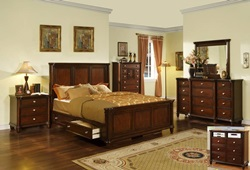 Hamilton Bedroom Set with Storage Bed