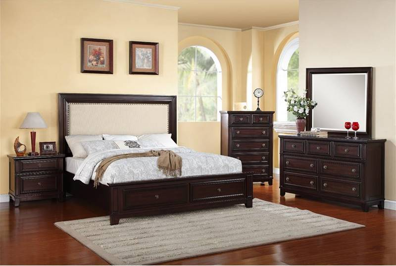 upholstered bedroom sets elements hr100 harwich bedroom set with upholstered 13698