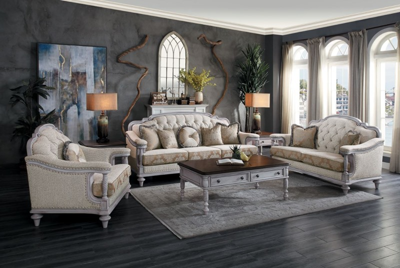Homelegance | 16139 Amancio Formal Living Room Set | Dallas Designer  Furniture