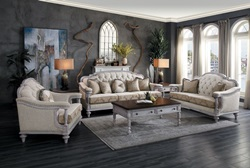 Amancio Formal Living Room Set