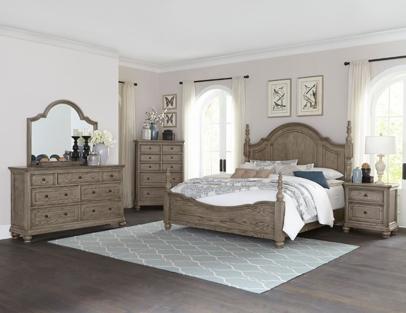 Lavonia Bedroom Set with Poster Bed