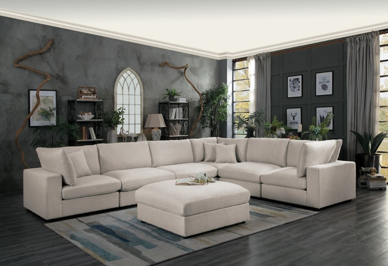 Casoria Sectional Sofa