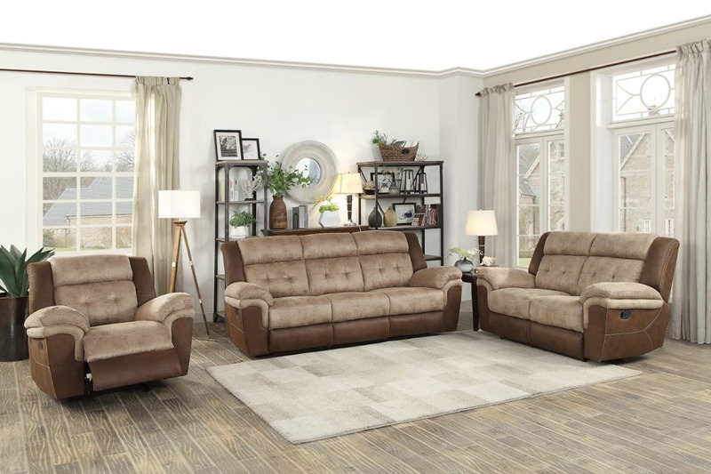 Chai Reclining Living Room Set