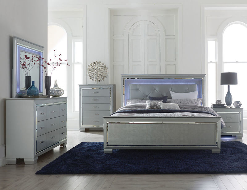 Homelegance 1916 Allura Bedroom Set Dallas Designer Furniture