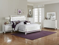 Alonza Bedroom Set with LED Lighting