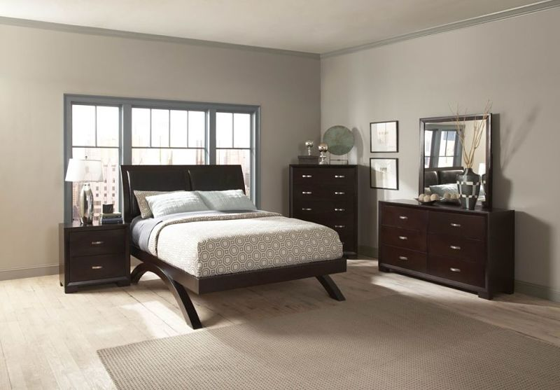 Astrid Bedroom Set with Platform Bed