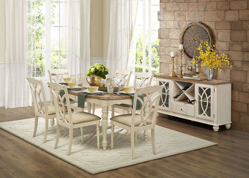 dallas designer furniture azalea country dining room set. Black Bedroom Furniture Sets. Home Design Ideas