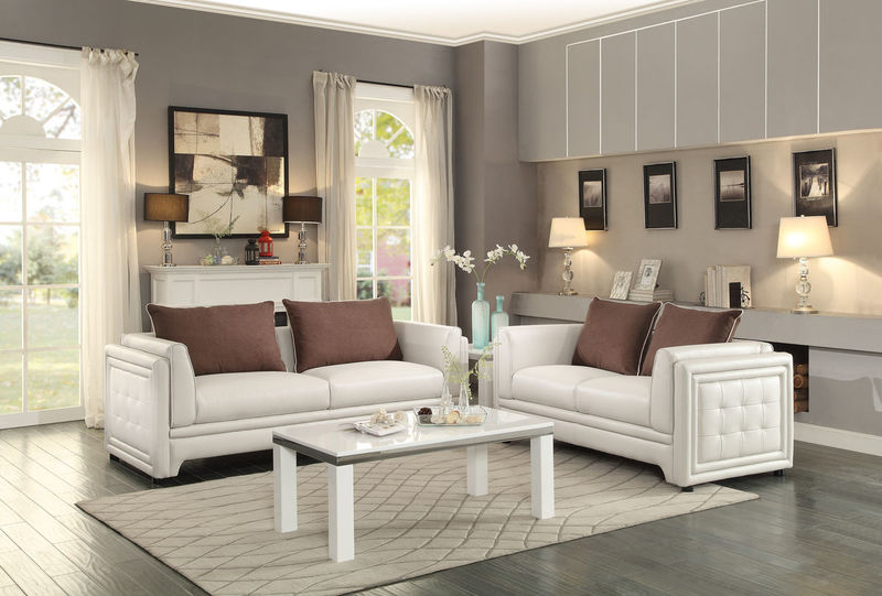 Azure Living Room Set