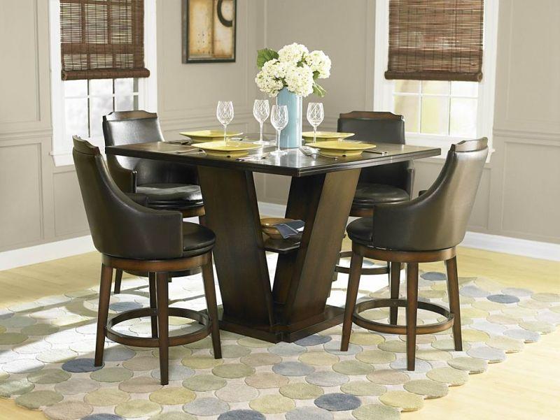 Bayshore Counter Height Dining Room Set ... & Dallas Designer Furniture | Bayshore Counter Height Dining Room Set