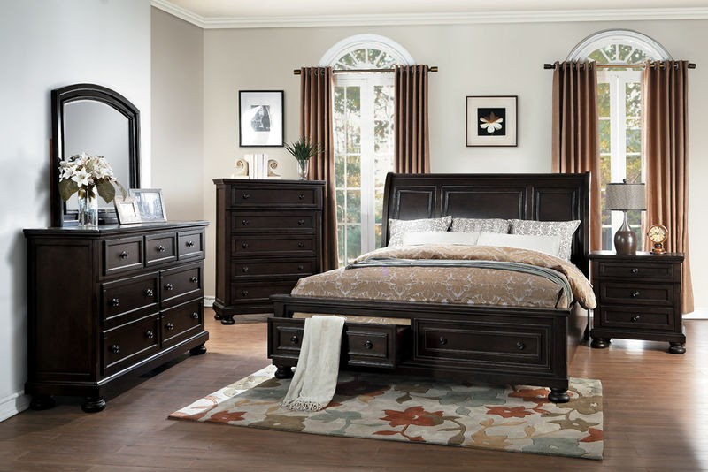 Begonia Bedroom Set with Storage Bed