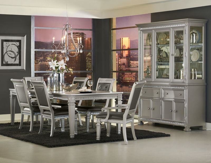 Homelegance 1958 96 Bevelle Formal Dining Room Set Dallas Designer Furniture