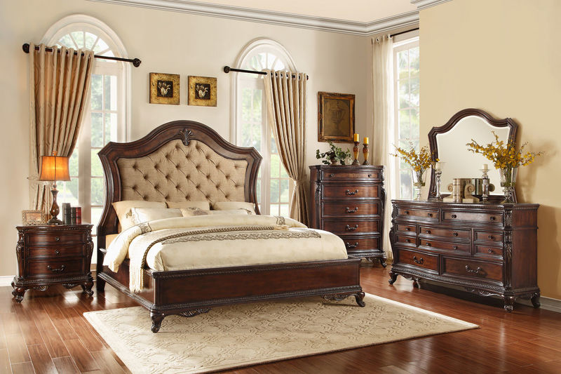 Dallas Designer Furniture | Bonaventure Park Bedroom Set