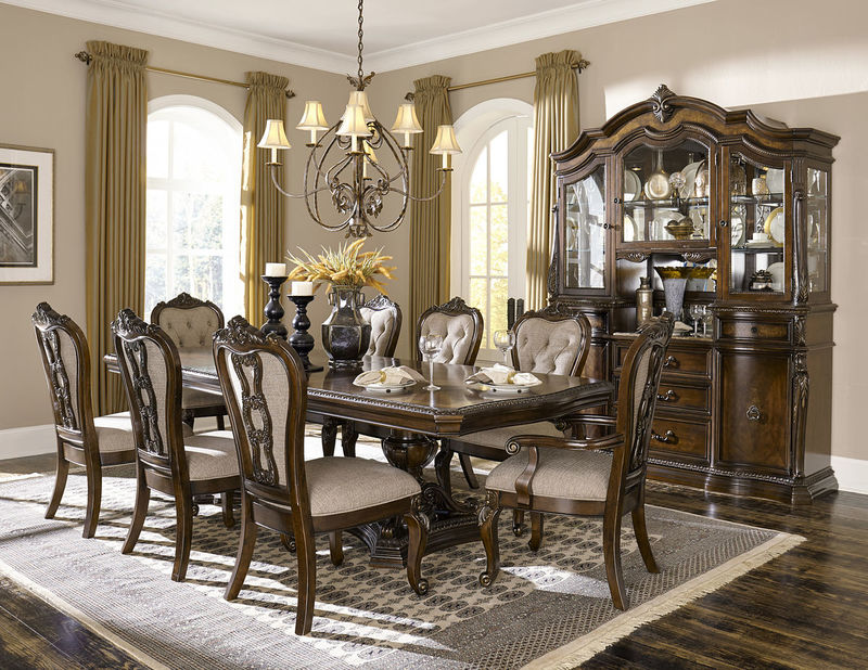 Bonaventure Park Formal Dining Room Set with Rectangle Table