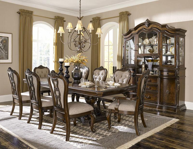 Homelegance | Bonaventure Park Formal Dining Room Set with Rectangle ...