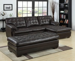 Brooks Sectional in Brown