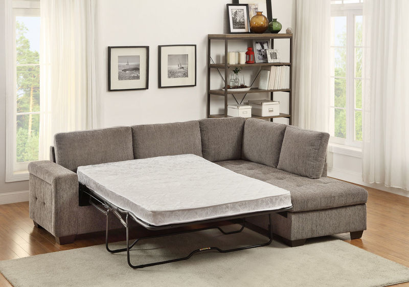 Dallas designer furniture calby lane sectional sofa with for Lane leather sectional sleeper sofa