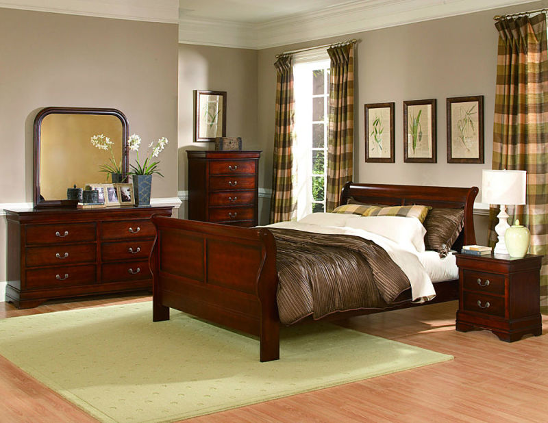 Chateau Brown Bedroom Set