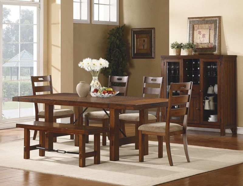 Clayton Dining Room Set with Bench