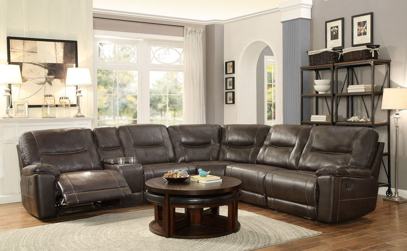 Columbus Reclining Sectional