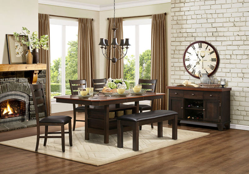Corliss Dining Room Set with Bench