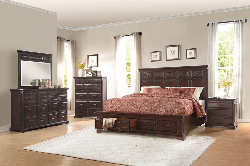 Cranfills Bedroom Set with Storage Bed