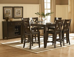 Crown Point Counter Height Dining Room Set