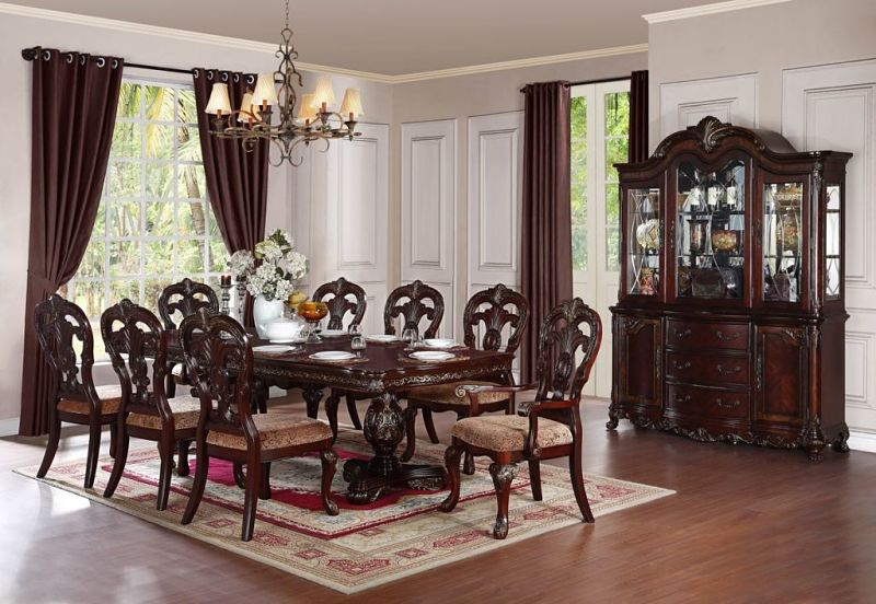 Deryn Park Formal Dining Room Set with Rectangular Table