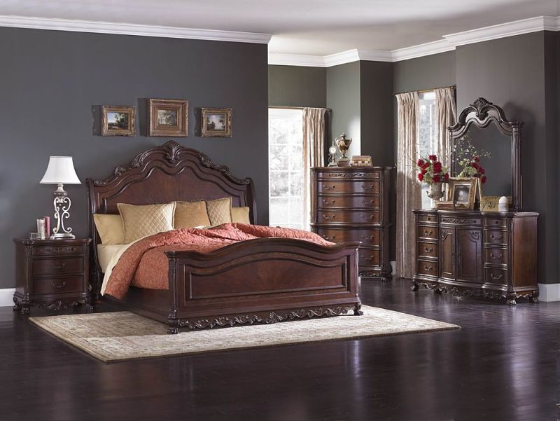 2243sl deryn park bedroom set - King Bedroom Sets Dallas