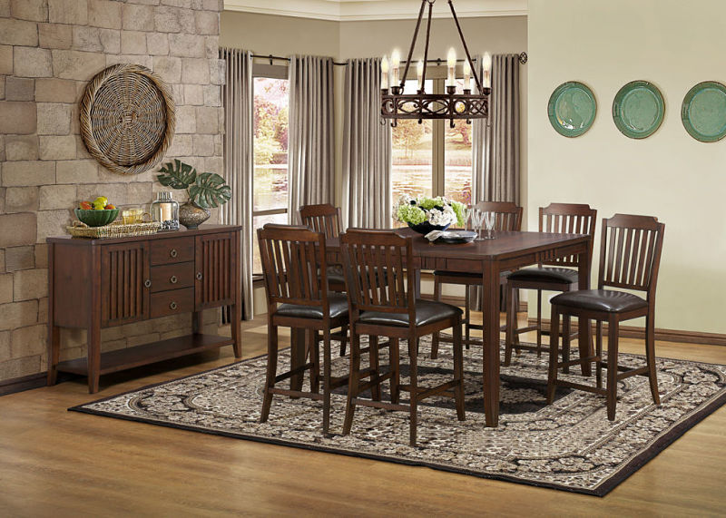 Dickens Counter Height Dining Room Set