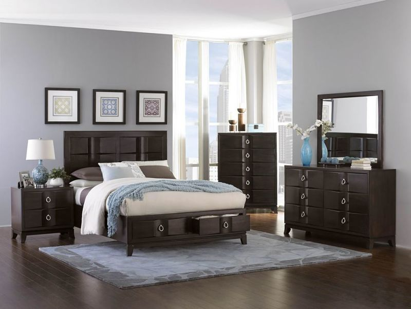 Edmonston Bedroom Set with Storage Bed