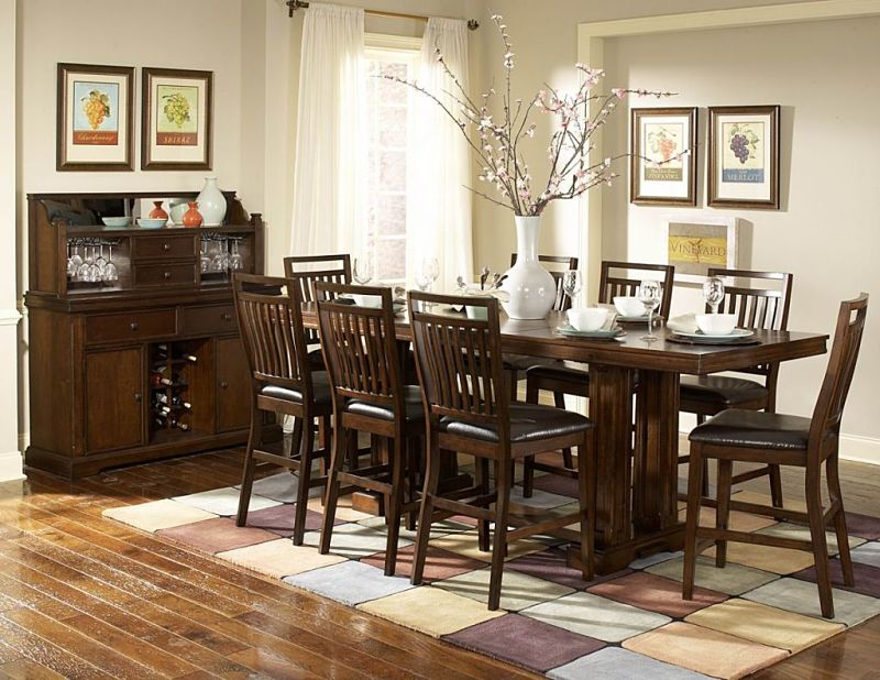 Everett Counter Height Dining Room Set