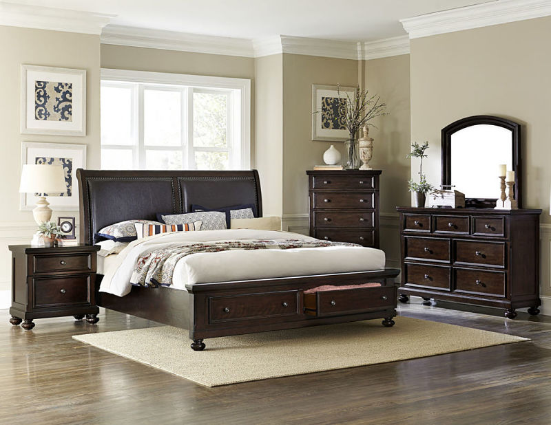 Faust Bedroom Set with Storage Bed