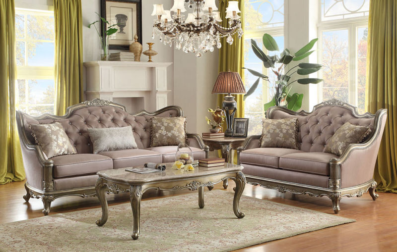 French Provincial Chair >> Homelegance | 8412-3 Fiorella Formal Living Room Set |Dallas Designer Furniture