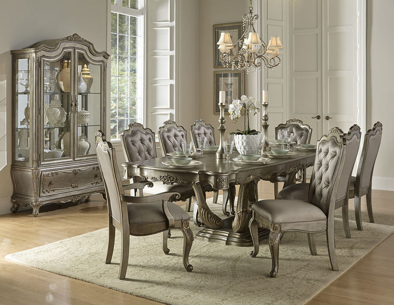 White Formal Dining Room Sets dallas designer furniture | townsend counter height dining room set