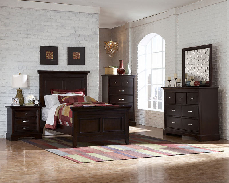 Great #1349T Glamour Youth Bedroom Set