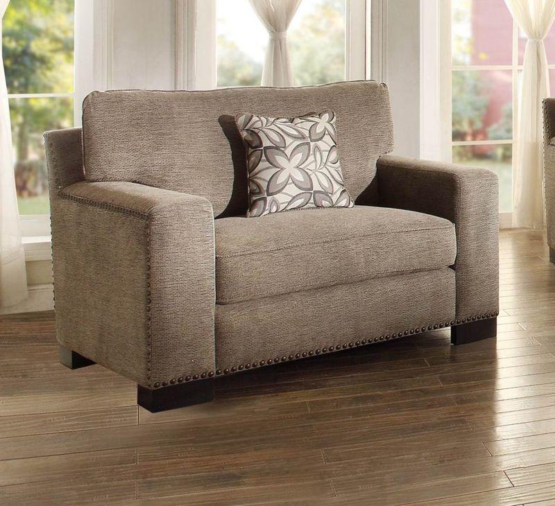 Gowan Living Room Set in Brown