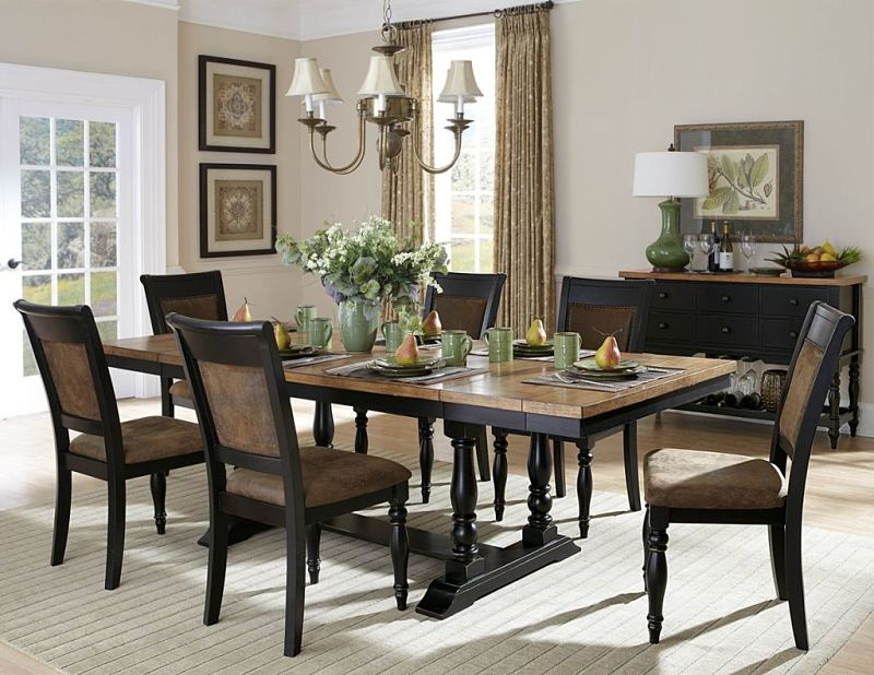 Grisoni Two Tone Dining Room Set