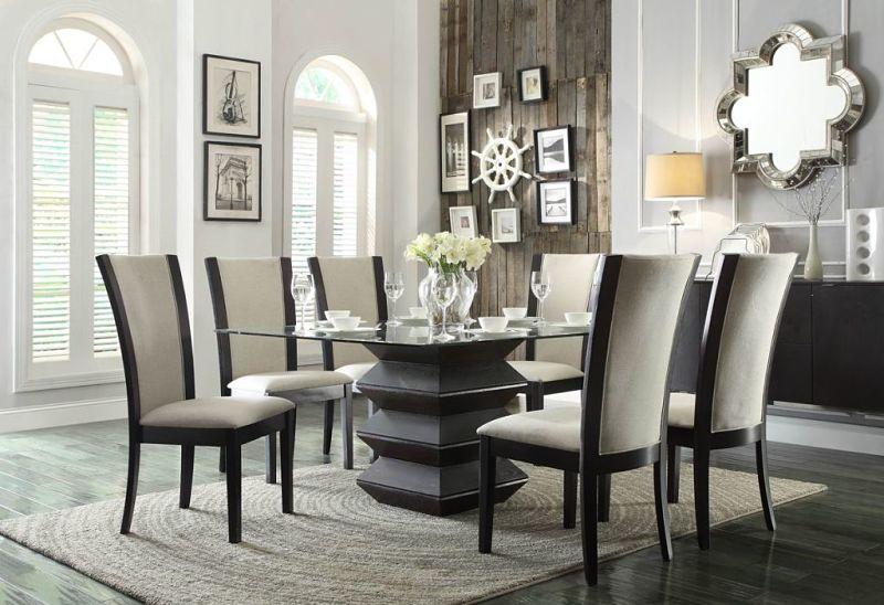 Havre Dining Room Set in Beige