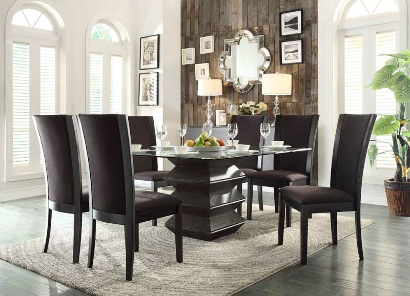 Havre Dining Room Set in Brown