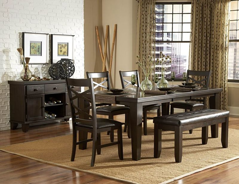 Hawn Dining Room Set with Bench