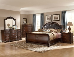 Hillcrest Manor Bedroom Set with Sleigh Bed