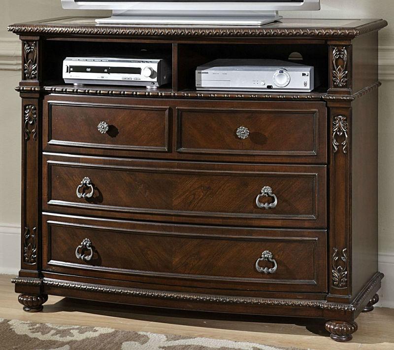 Dallas Designer Furniture Hillcrest Manor Bedroom Set With Sleigh Bed