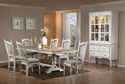 Hollyhock Country Dining Room Set