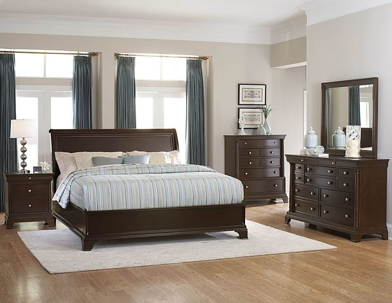 Inglewood Bedroom Set with Low Profile Bed