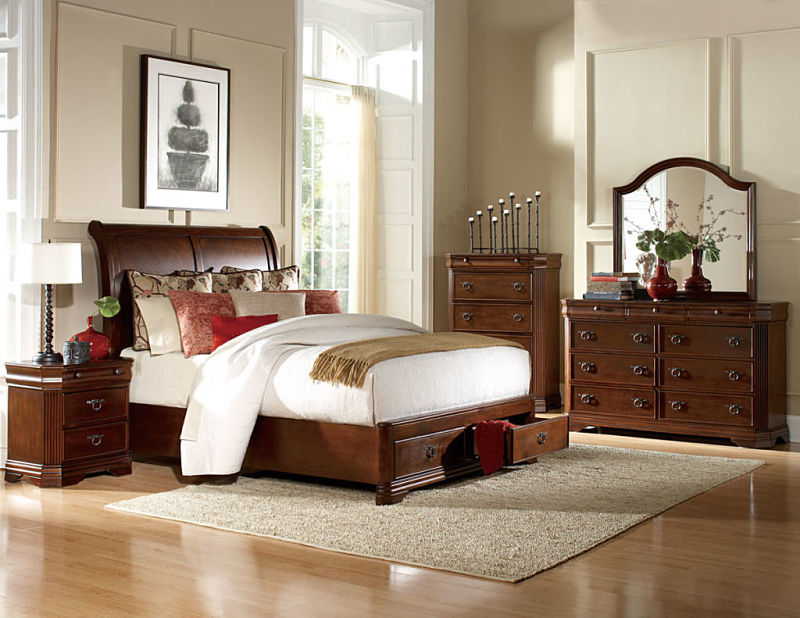 Karla Bedroom Set with Storage Bed