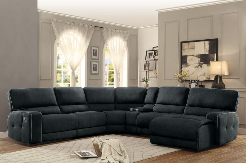 Keamey Reclining Sectional with Right Side Chaise